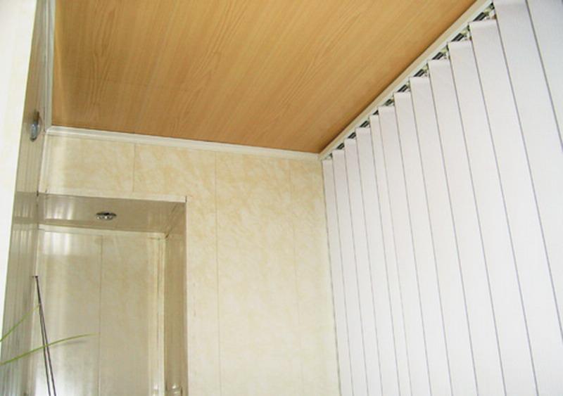 Пластиковые стены на балконе. - остекление - каталог статей .